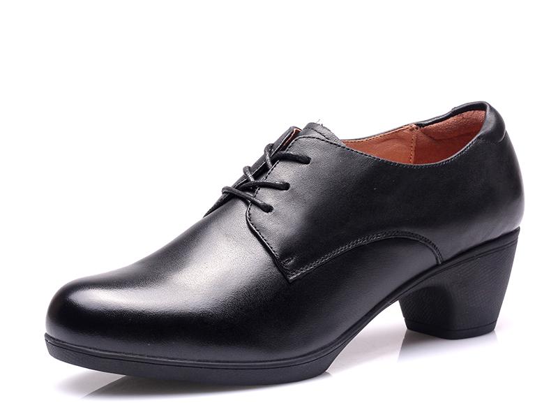 17新款执法女春秋皮鞋