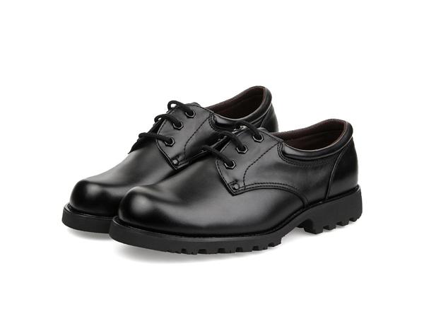 B09军警皮鞋