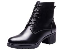 17新款执法鞋女绒鞋