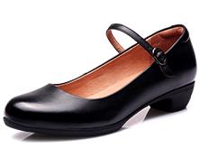 17新款执法女凉皮鞋