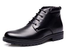 17新款执法鞋男绒皮鞋