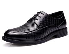 17新款执法鞋男凉皮鞋